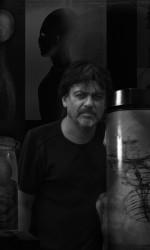 Herikberto en su estudio 2016.